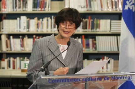 La ministre de l'Éducation, Michelle Courchesne... (Photo: Martin Chamberland, archives La Presse)