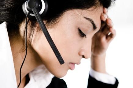 Les personnes souffrant de migraine auraient deux fois... (Photo: Photos.com)