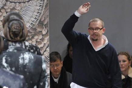 Le designer britannique Alexander McQueen.... (Photo: Damien Meyer, AFP)
