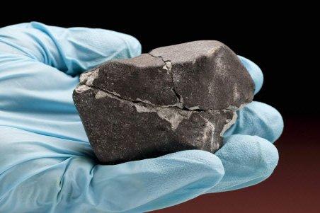 Une météorite... (Photo: Archives AP)