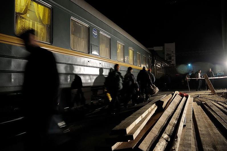 Traverser en train la Volga, puis les forêts de l'Oural,... (Photo: Wikipédia)