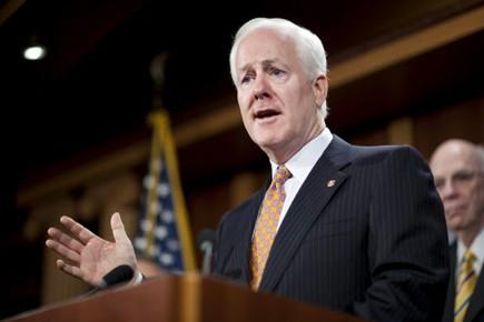 Le sénateur républicain John Cornyn.... (Photo: Reuters)