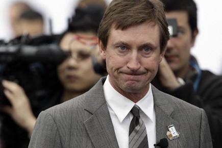 Les nombreux fans de Wayne Gretzky seront déçus d'apprendre que... (Photo: AP)