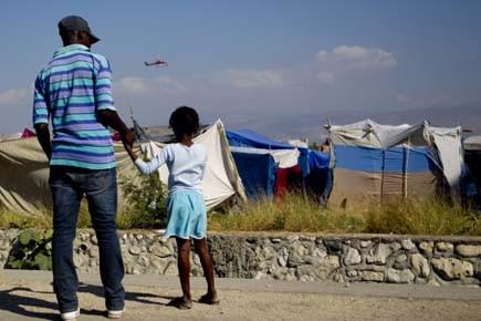 Un mois après le tremblement de terre... (Photo: Martin Chamberland, La Presse)