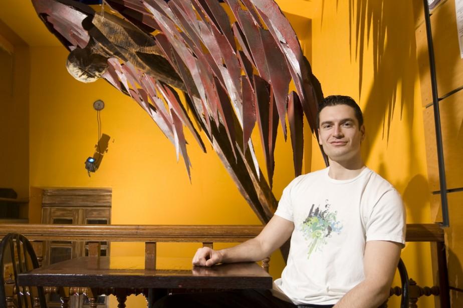 Marc Mercier a créé le site séduire.ca, qui... (Photo: François Roy, La Presse)