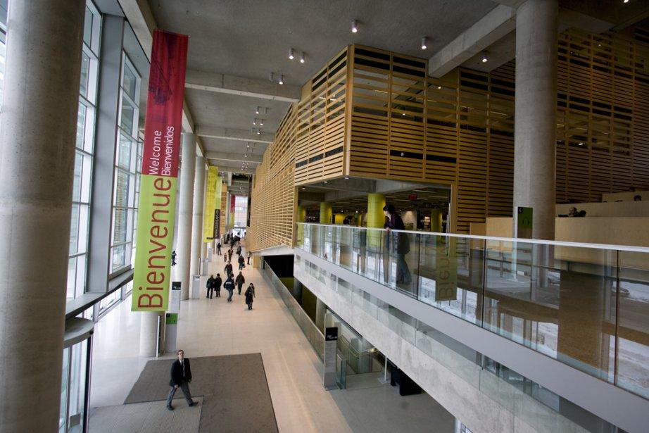 La Grande Bibliothèque... (Photo: André Tremblay, archives La Presse)