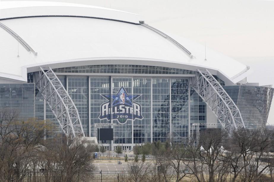 Le Cowboys Stadium, à Dallas... (Photo: AP)
