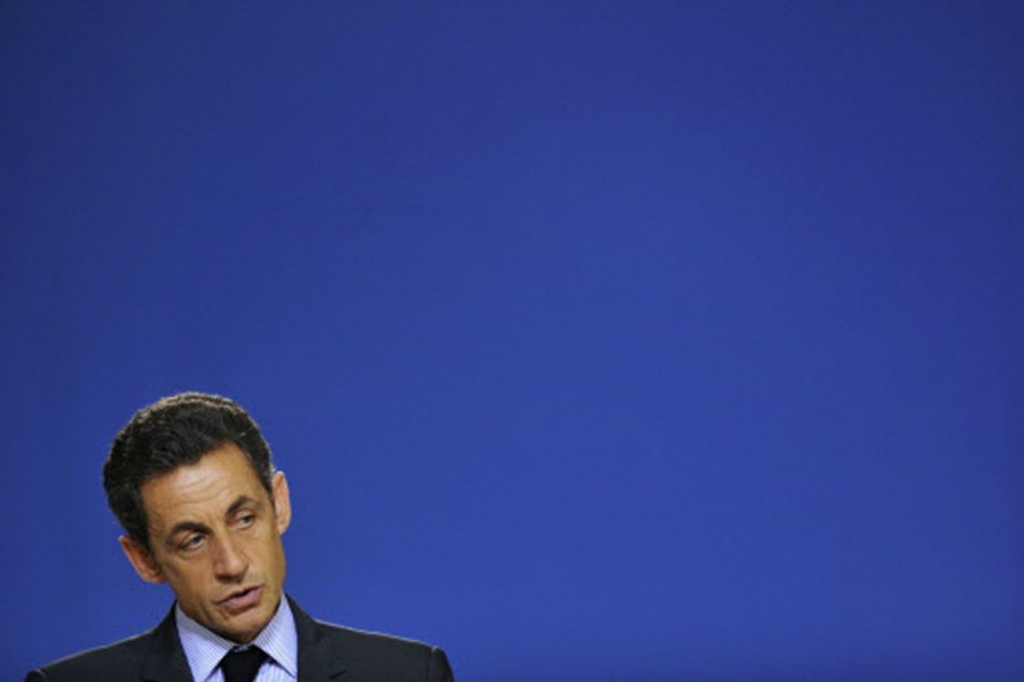 Nicolas Sarkozy.... (Photo: AFP)