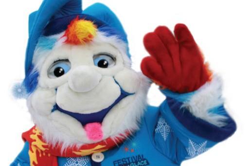 Atashtatuk, mascotte du festival Feu et glace de... (Photo: fournie par le festival Feu et Glace)