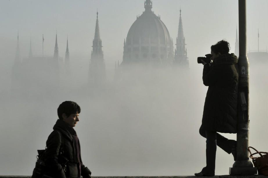 Le Parlement hongrois à Budapest. La Hongrie est... (Photo: AP)
