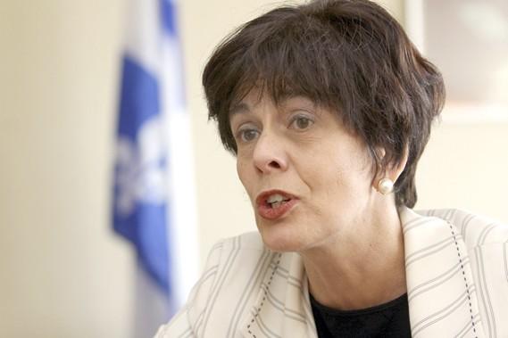 La ministre de l'Éducation Michelle Courchesne.... (Photo: Martin Chamberland, La Presse)