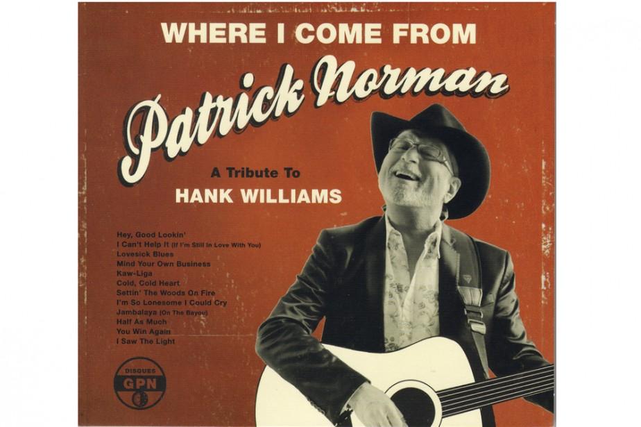 Pochette cd de Patrick Norman...