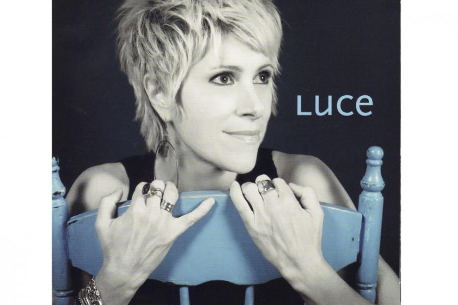 Pochette cd de Luce Dufault...