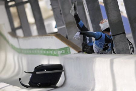 Le lugeur géorgien Nodar Kumaritashvili est décédé lors... (Photo: AFP)