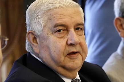 Le ministre syrien des Affaires étrangères, Walid Mouallem.... (Photo: archives AP)