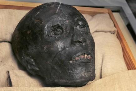La momie de Toutankhamon.... (Photo: AP)