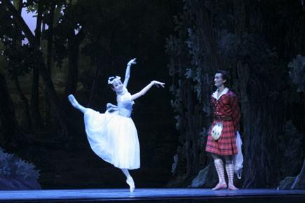 La Sylphide est considérée comme le premier ballet... (Photo: Wengui Han, collaboration spéciale)