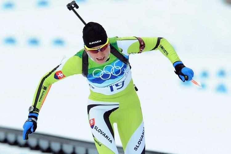Anastasia Kuzmina... (Photo: AFP)