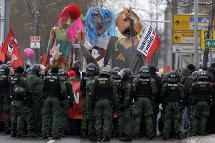 Les forces de l'ordre avaient déployé toute la... (Photo: Reuters)