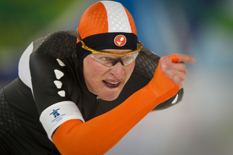 Sven Kramer... (Photo: André Pichette, La Presse)