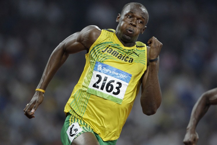 Usain Bolt... (Photo: AP)