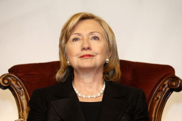 Clinton lors d'une allocution devant le Forum mondial... (Photo Reuters)