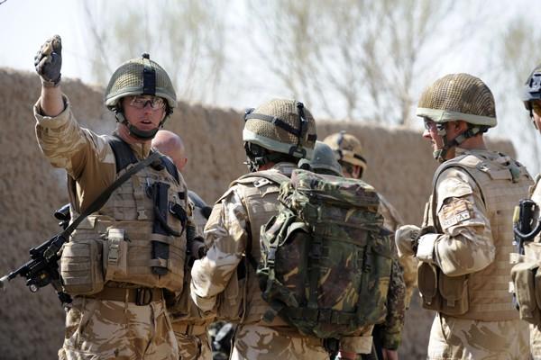Des soldats britanniques en Afghanistan.... (Photo AFP)