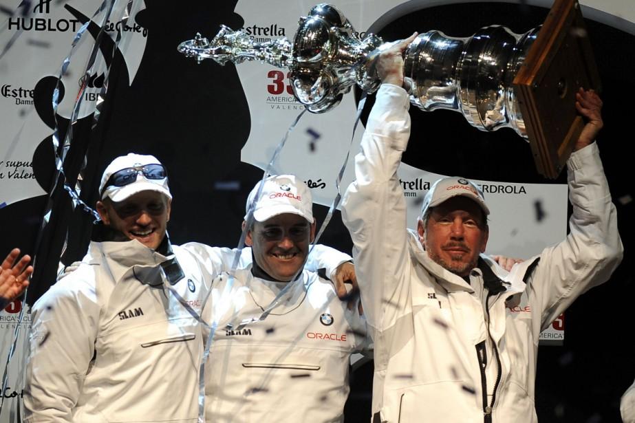 Le défi américain BMW Oracle Racing,  a remporté sans... (Photo: AFP)