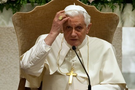 Benoit XVI.... (Photo: AFP)