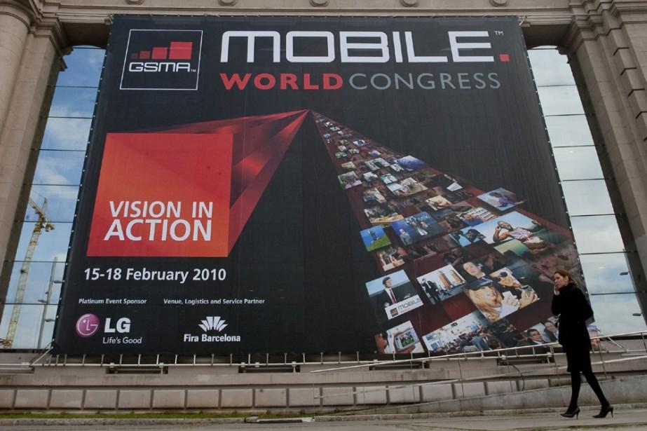 Le congrès mondial de la téléphonie mobile se... (Photo: AFP)