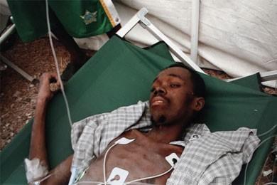 Malgré l'aide importante en médicaments et en matériel... (Photo: Reuters)