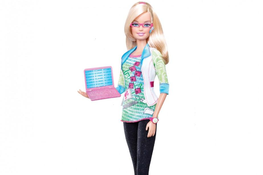 La Barbie ingénieure en informatique...
