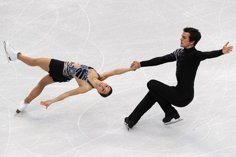 Jessica Dubé et Bryce Davison occupent le sixième... (Photo: AFP)