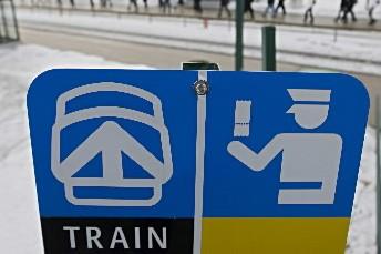 La construction du train de... (Photo: Ivanoh Demers, archives La Presse)