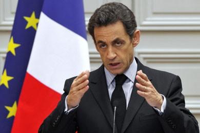 Le président français Nicolas Sarkozy.... (Photo: Philippe Wojazer, AP)