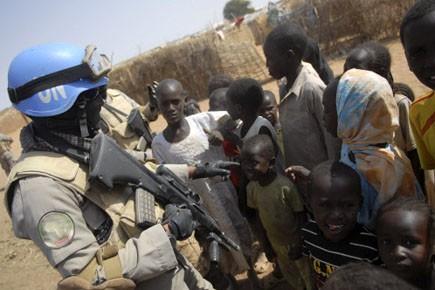 Des combats récents entre les troupes... (Photo: Andrew Heavens, Reuters)