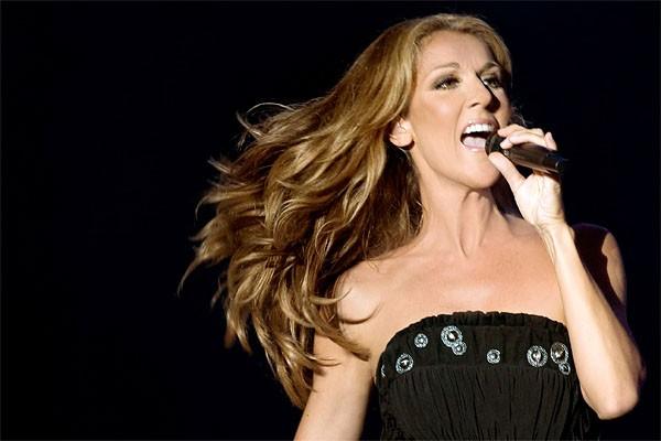 Céline Dion en spectacle, le 11 février 2010.... (Photo: PC)