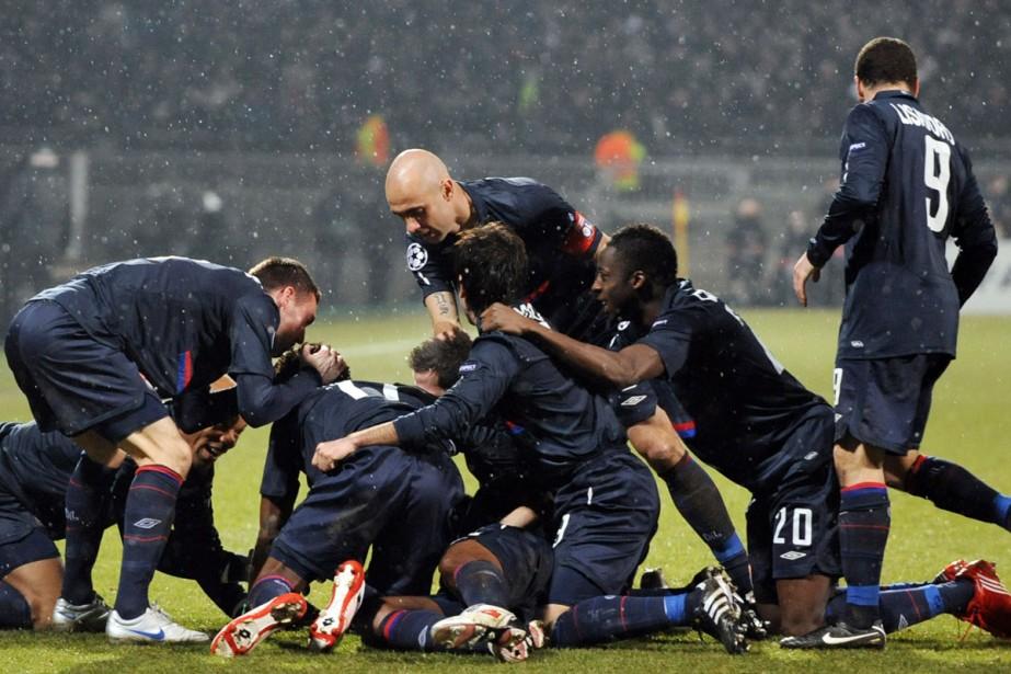 Lyon a battu le Real 1-0 mardi en... (Photo: AFP)