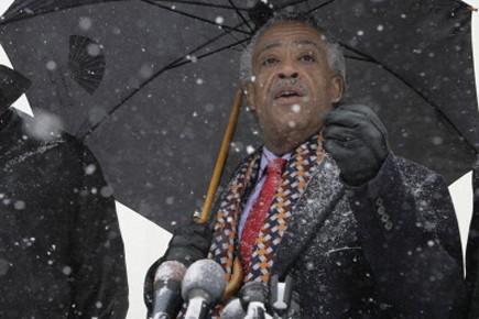 Le révérend Al Sharpton avait fait campagne pour... (Photo: AFP)