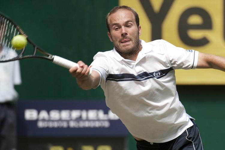 Olivier Rochus... (Photo: AP)