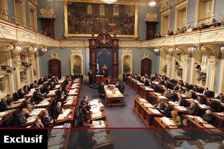 L'Assemblée nationale à Québec.... (Photo: PC)