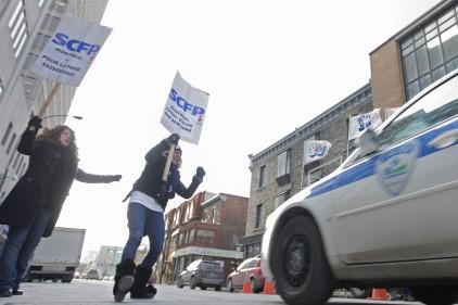 La convention collective des 5500 cols bleus est... (Photo: Ivanoh Demers, La Presse)