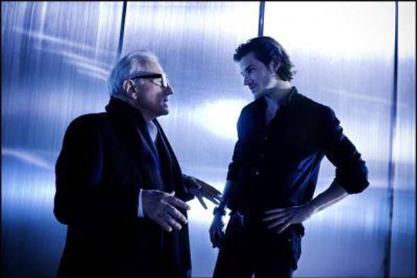 Le cinéaste Martin Scorsese et Gaspard Ulliel.... (Photo fournie)