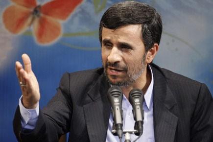 Le président iranien Manmoud Ahmadinejad.... (Photo: AP)