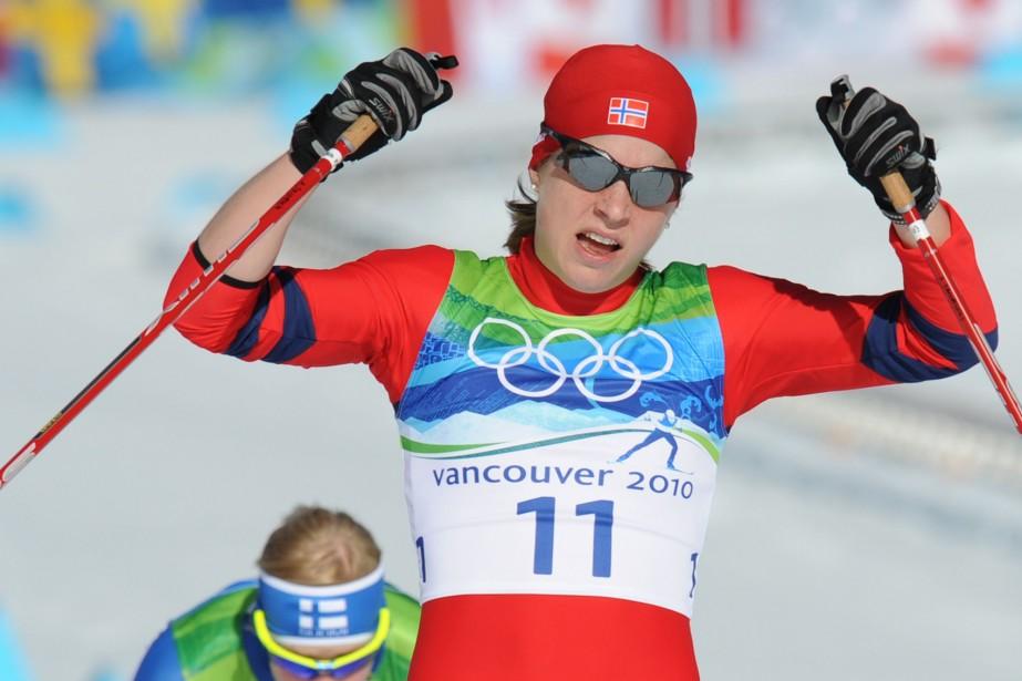 Marit Bjoergen... (Photo: AFP)