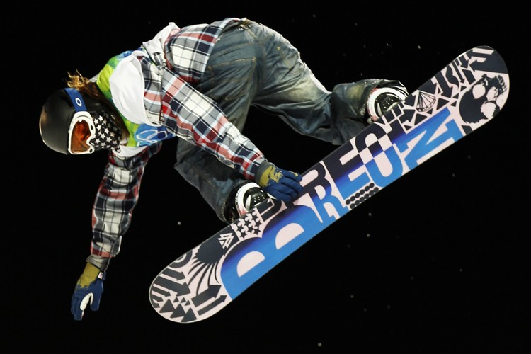Shaun White... (Photo: Reuters)