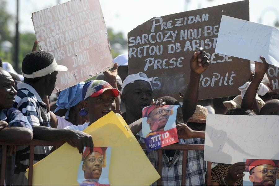 «Nicolas Sarkozy, l'esclavagisme et le colonialisme sont pires... (Photo: AFP)