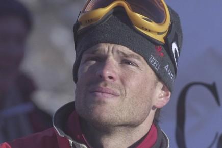 Avant les Jeux de Lillehammer, en 1994, Jean-Luc... (Photo: Bernard Brault, archives La Presse)