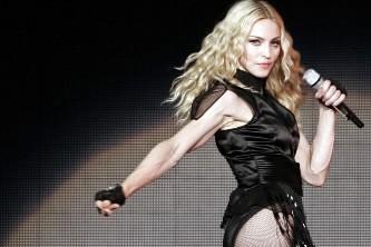 La chanteuse Madonna... (Photo: AP)