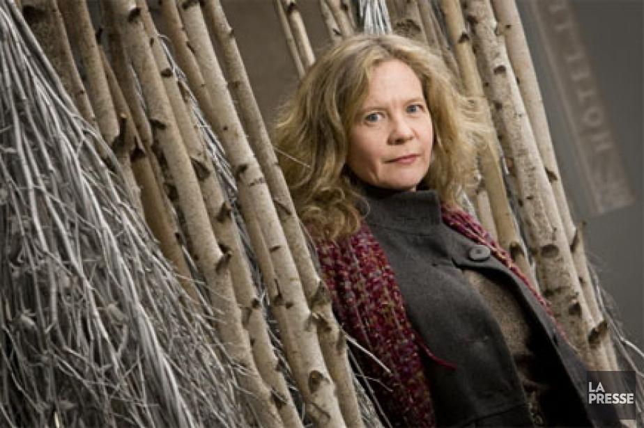 Lisa Moore, une écrivaine de Saint-Jean (Terre-Neuve) qui... (Photo: David Boily, La Presse)